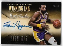 SPENCER HAYWOOD / Winning Ink - No. 47  (#d 7/10)
