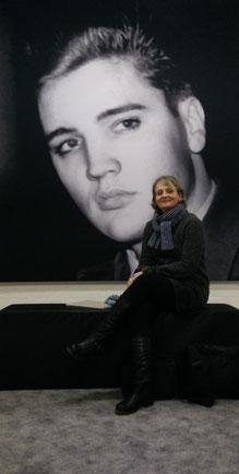Fan ELVIS IN BAD NAUHEIM - Journalistin Petra Ihm-Fahle, 03.01.2015