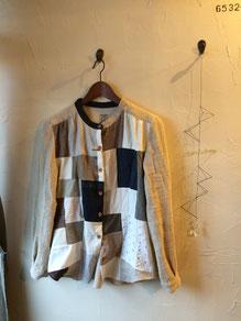 パッチワークシャツ 11800