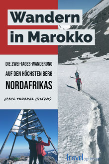 Wandern im Atlasgebirge in Marokko - Besteigung des Jbel Toubkal