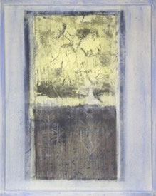 LICHTÖFFNUNG, Mischtechnik auf Leinwand, 80 x 100 cm, 2003