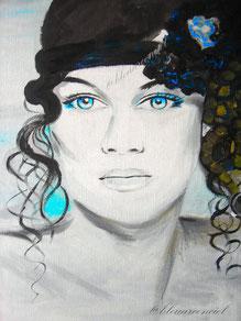 2012 Peinture à l'huile sur toile de coton 25/30 cm