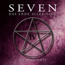 CD Cover SEVEN - Folge 4 - Die Verdammte