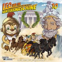 CD Cover Leo und die Abenteuermaschine 10