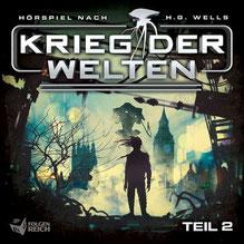 CD Cover Krieg der Welten 2