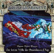 CD Cover Gruselkabinett Folge 163