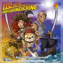CD Cover Leo und die Abenteuermaschine 9
