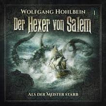 CD Cover Der Hexer von Salem - Als der Meister starb