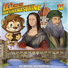 CD Cover Leo und die Abenteuermaschine 12