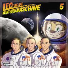 CD Cover Leo und die Abenteuermaschine 5