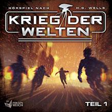 CD Cover Krieg der Welten 1
