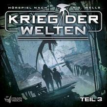CD Cover Krieg der Welten 3