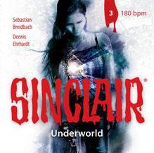 CD Cover Sinclair Underworld - 180bpm