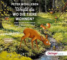 CD Cover: Weißt du, wo die Tiere wohnen?