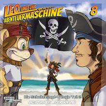 CD Cover Leo und die Abenteuermaschine 8