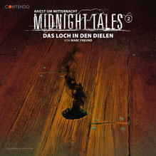 Cover Midnight Tales - 2 - Das Loch in den Dielen