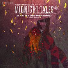 CD Cover Midnight Tales Schatten der Vorahnung