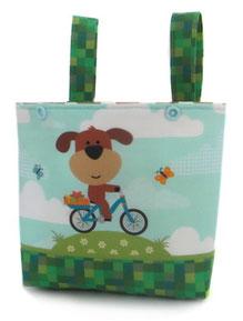 Laufradtasche mit Hund