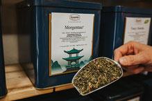 Grüner Tee - Morgentau