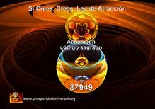 ACTIVACIÓN  DEL CÓDIGO SAGRADO 87949 - AGESTA-SIETE ÁNGELES DE LA LEY DE ATRACCIÓN-  SI LO CREES, LO CREAS, RECIBE DINERO INSTANTÁNEO, ACTIVA PROSPERIDAD UNIVERSAL