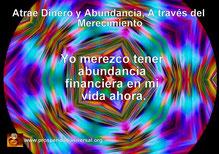 ATRAE DINERO Y ABUNDANCIA, A TRAVÉS DEL MERECIMIENTO Y EL PODER DE ELEJIR- YO MEREZCO TENER  ABUNDANCIA FINANCIERA EN MI VIDA AHORA.  BLOG PU