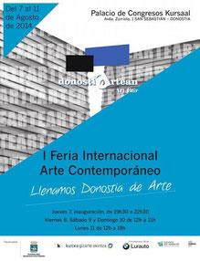 Donostiartean Feria internacional de arte contemporáneo  - Mari Carmen Fernández Quirós