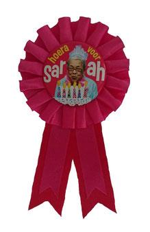 Rozet € 2,95 Sarah roze
