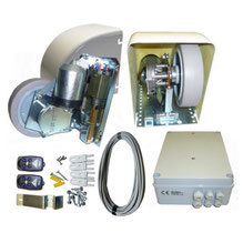 Akia star 24 – 2-leaf swing gate wheeled motor drive kit