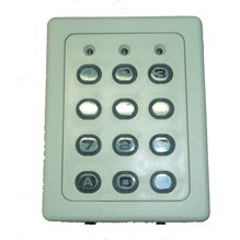Wired keypad for AKIA France System's wheeled motor drives