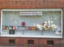 Büro Hamburg - Schaufenster, (c) Björn Kempcke, Silberfuchs-Verlag