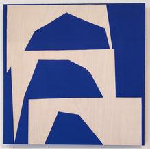 Ulla Pedersen 2019 in der Galerie SEHR, Koblenz (Rheinland-Pfalz)