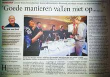 Artikel TC Tubantia Workshop het perfecte diner thuis 20-11-12