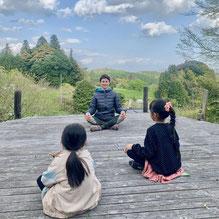 英語村テント