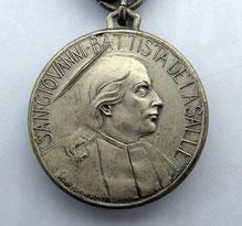 Medaglia per S. G. Battista De La Salle.