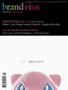 brand eins, Ausgabe 10/2000