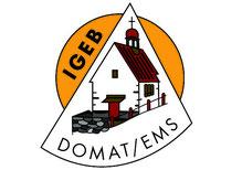 Unser neues Logo auf den IGEB Briefcouverts den Papierbogen