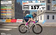 aktuell ist das Rad (Canyon Aeroad 2021(!) in rosa (Giro d'Italia) eingefärbt