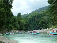Tour de rafting en Pacuare de un día desde La Fortuna