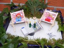 Geldgeschenke Garten