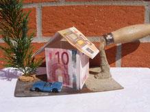 Geldgeschenk für Häuslebauer