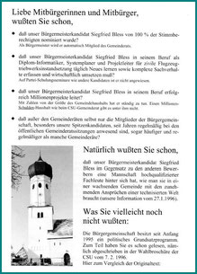 2. Broschüre 1996
