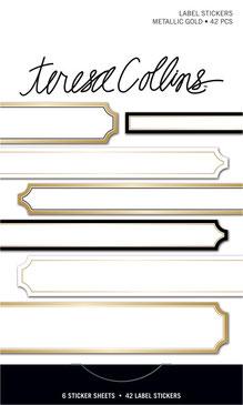 UK Stockist Teresa Collins Signature Essentials Sticker Books