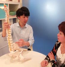 腰痛の原因の説明