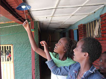 Solar energy - bringing light and delight (photo: Solar Age Namibia Ltd.)
