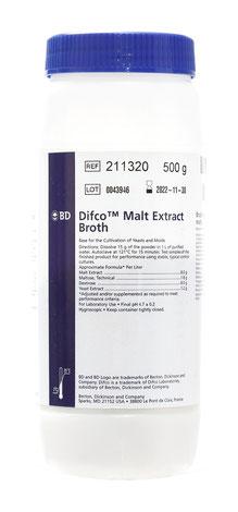 211320 BD Difco™ Caldo Extracto de Malta, 500 g