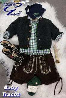 baby-tracht-lederhose-bub-kurz-wandls-gwandl