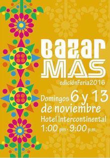 Bazar Más - Edición Feria 2016