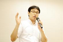 嚥下リハサポート代表である大野木先生の写真