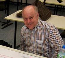 TDOT-Projektleiter beim Ersinnen neuer Konzepte für den Schulevent