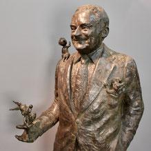 Statue-Buste-Goscinny-Langloÿs